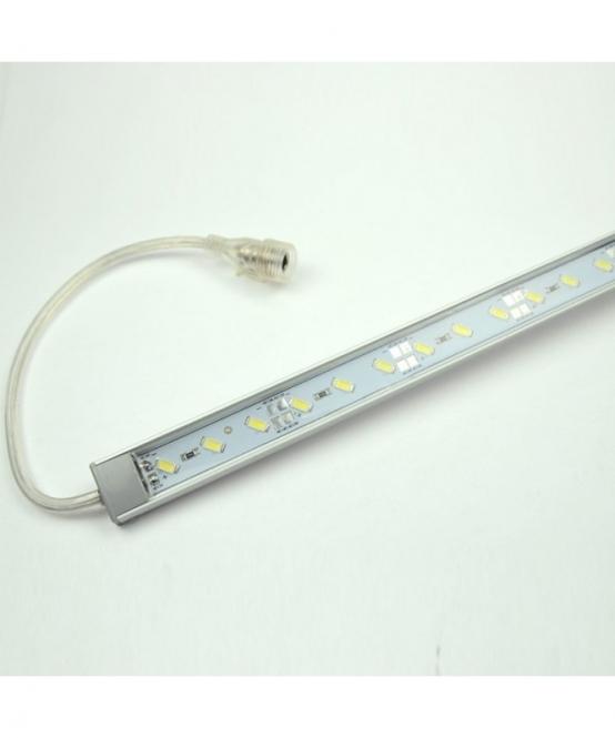 LED-Aquariumleuchte 850 Lumen Gleichstrom 12V DC kaltweiss 15W gg. Algenwachstum