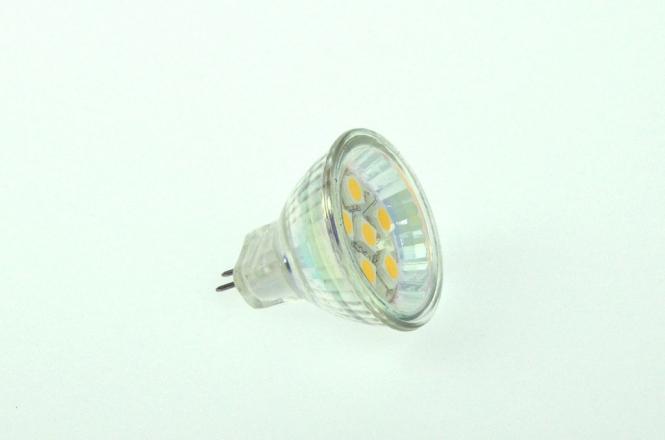 GU4 LED-Bajonettsockellampe 100 Lumen Gleichstrom 10-30V DC warmweiss 1W