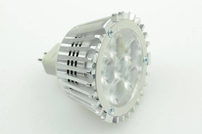 GU5.3 LED-Spot PAR16 400 Lumen Gleichstrom 10-25V DC warmweiss 6,7W