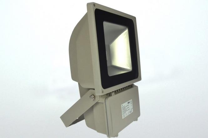 LED-Flutlichtstrahler 4900 Lumen Gleichstrom 120-230V DC warmweiss 78W