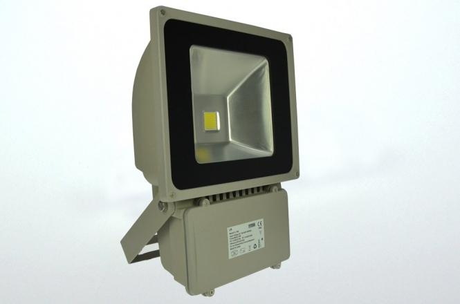 LED-Flutlichtstrahler 5000 Lumen Gleichstrom 120-230V DC kaltweiss 78W
