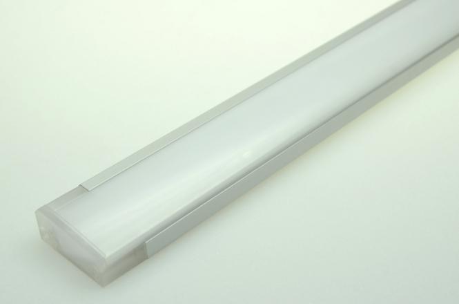 LED-Lichtleiste 540 Lumen Gleichstrom 12-16V DC warmweiss 9W Sideview