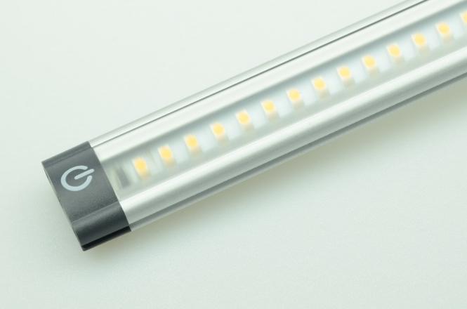 LED-Lichtleiste 400 Lumen Gleichstrom 9,5-30V DC warmweiss 5W Sensorschalter